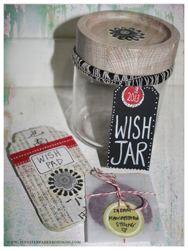 Wish And Gratitude Jars For The New Year Jennifer Parker Designs